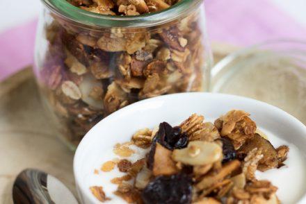 granola al cocco