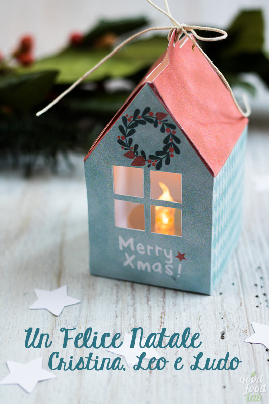 casetta di Natale