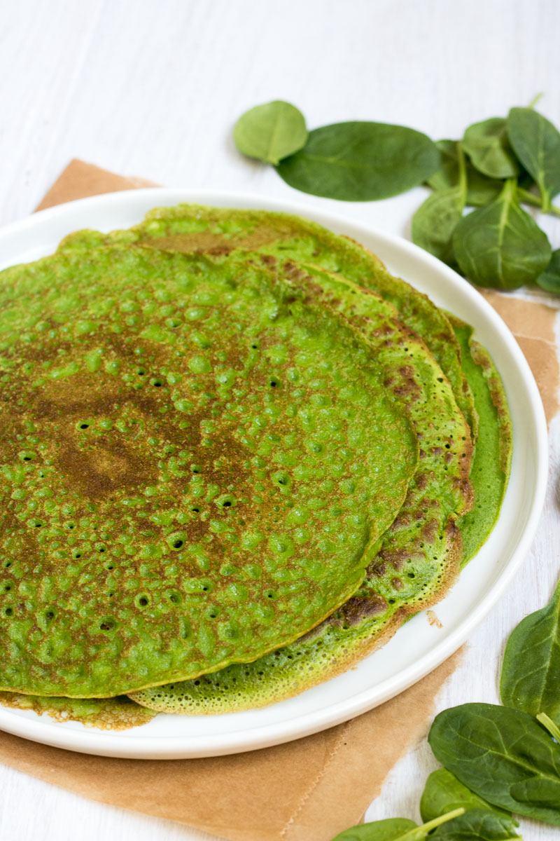 green crepes