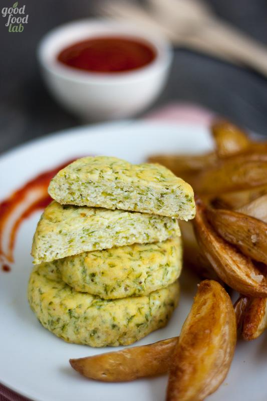 Zucchini invasion: burger di zucchine e ricotta