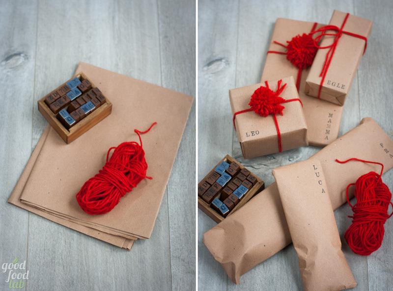 pacchetti natalizi pompon