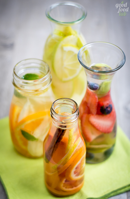 infused water detox water novemesi