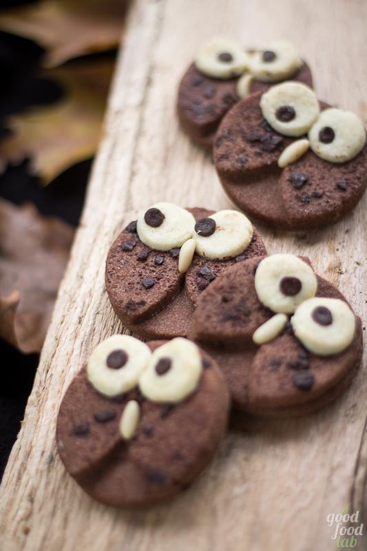 I Gufetti, simpatici biscotti di frolla al cacao