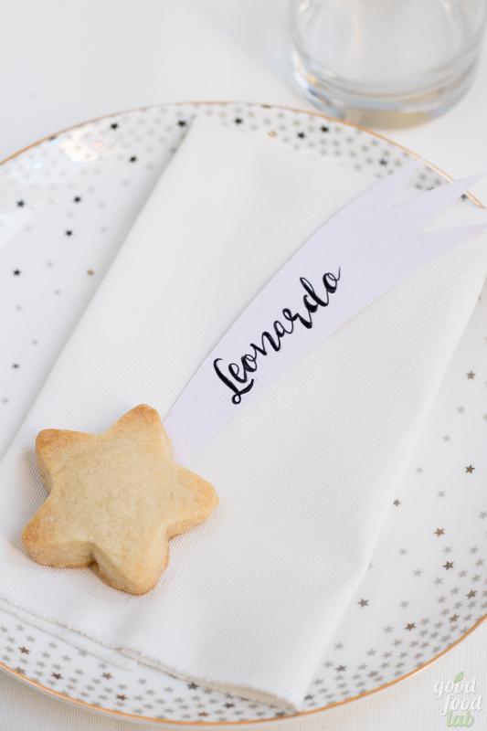 Speciale Natale: stelle comete di shortbread