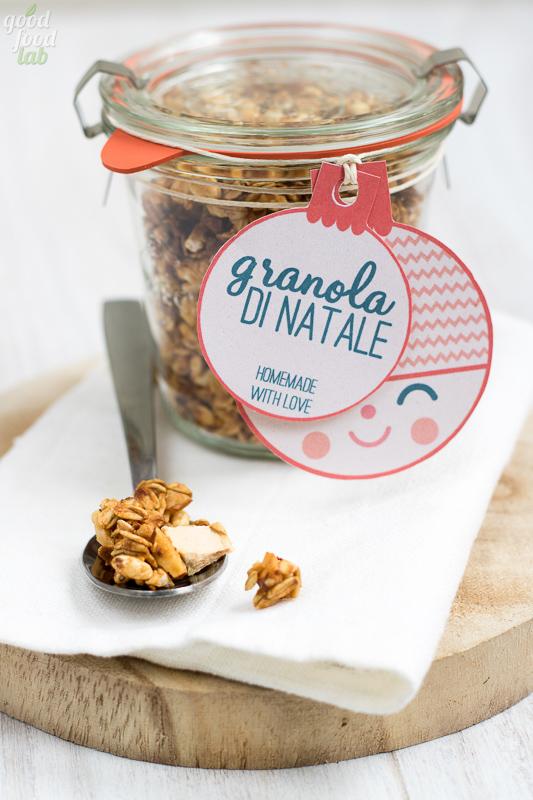 granola di natale