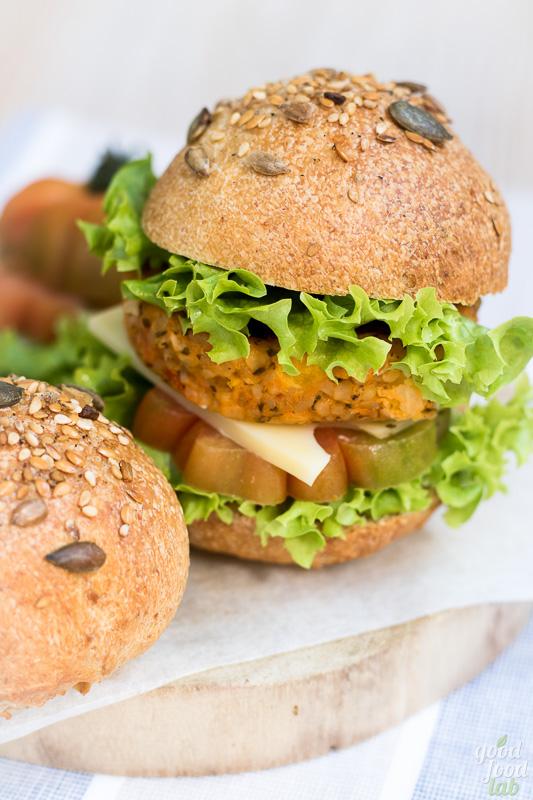 Burger buns multicereali a lievitazione naturale