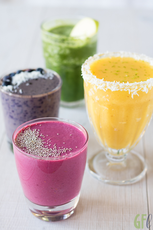 4 Summer Smoothies sani e divertenti