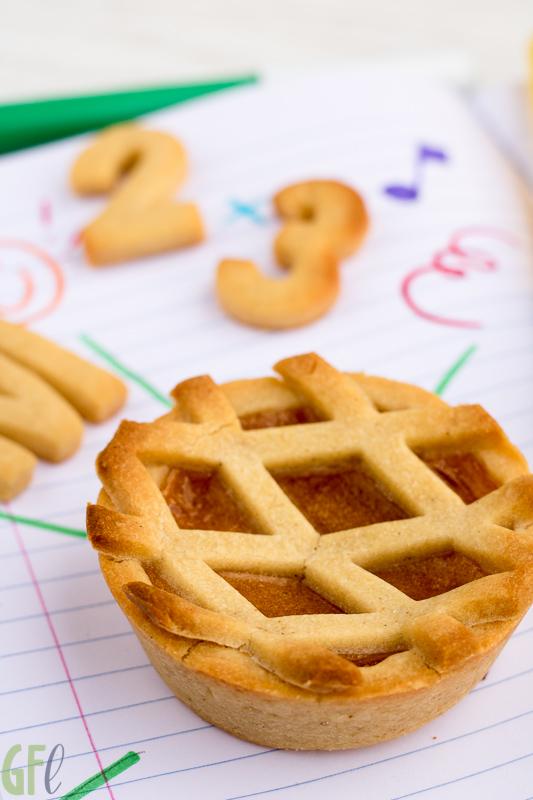 Back to school: crostatine di kamut alla marmellata