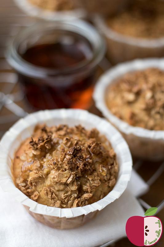 Il tempo delle mele: muffin croccanti alle mele
