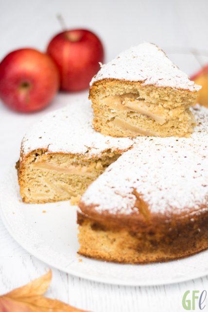 Torta di mele e mandorle per #iltempodellemele
