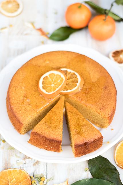 Torta polentina al mandarino, e una tisana buonissima