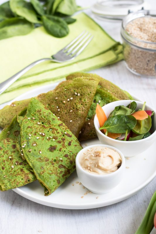 green crepes