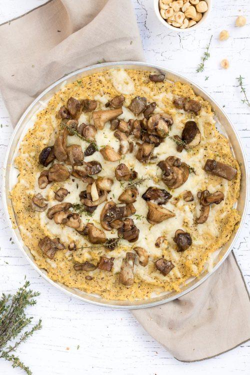 Livigno pizza di polenta taragna Vette di Gusto