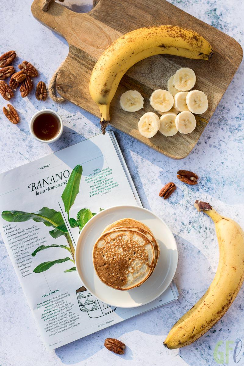 come coltivare un banano banana pancakes