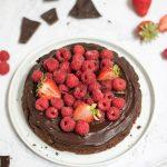 torta cioccolato e ceci