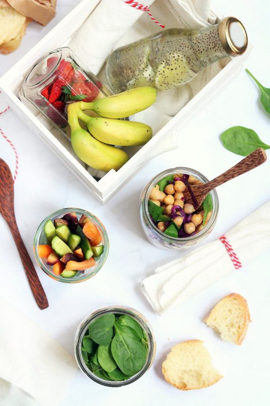 picnic senza plastica #mangiozerowaste