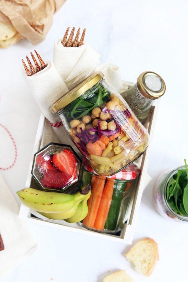 Come organizzare un picnic senza plastica