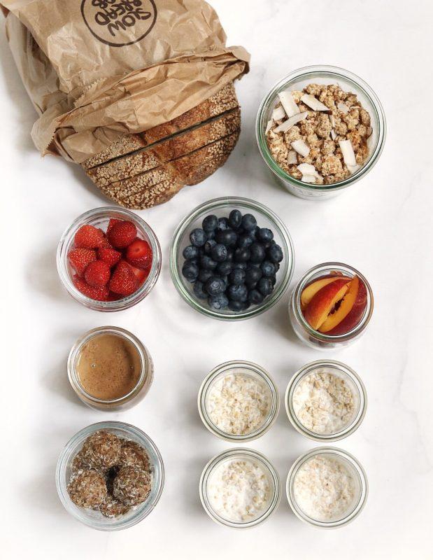 meal prep colazione