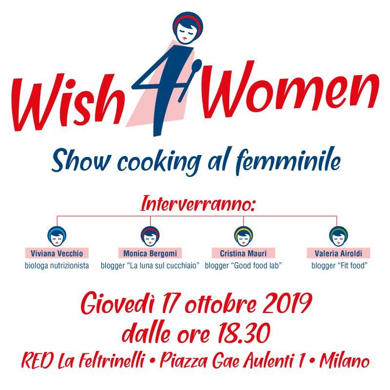 alimentazione e prevenzione con WISH4Women