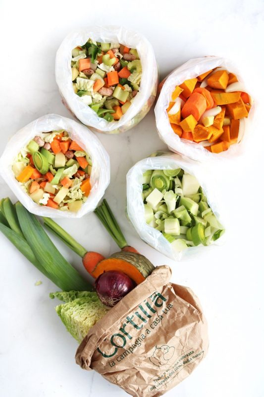 creme di verdure e minestrone autunnale