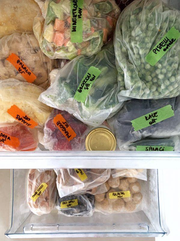 organizzare il freezer