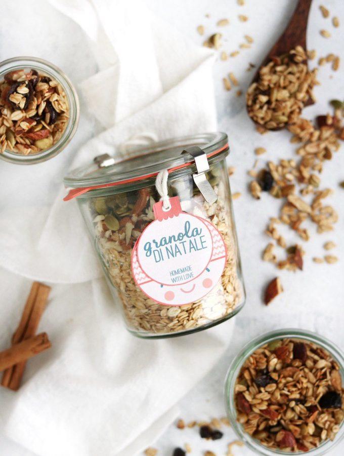 granola regali in vasetto