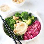 pink rice bowl #vogliadiinsalata