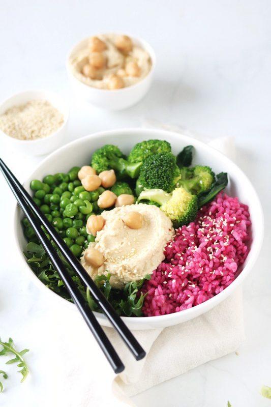 voglia di insalata bowl del benessere