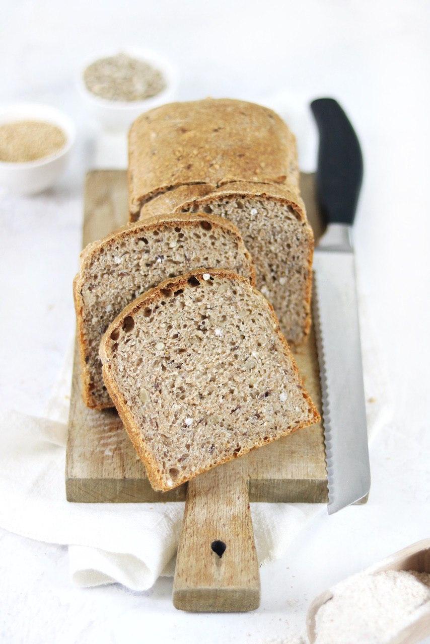 pane integrale con semi
