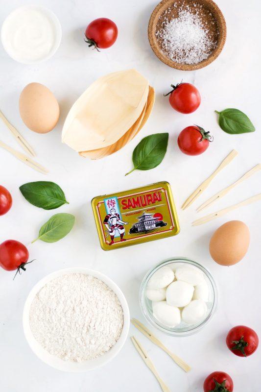 blinis al basilico aperitivo italiano
