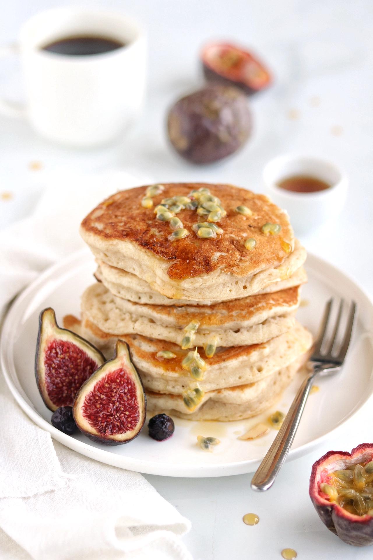 pancakes soffici vegan