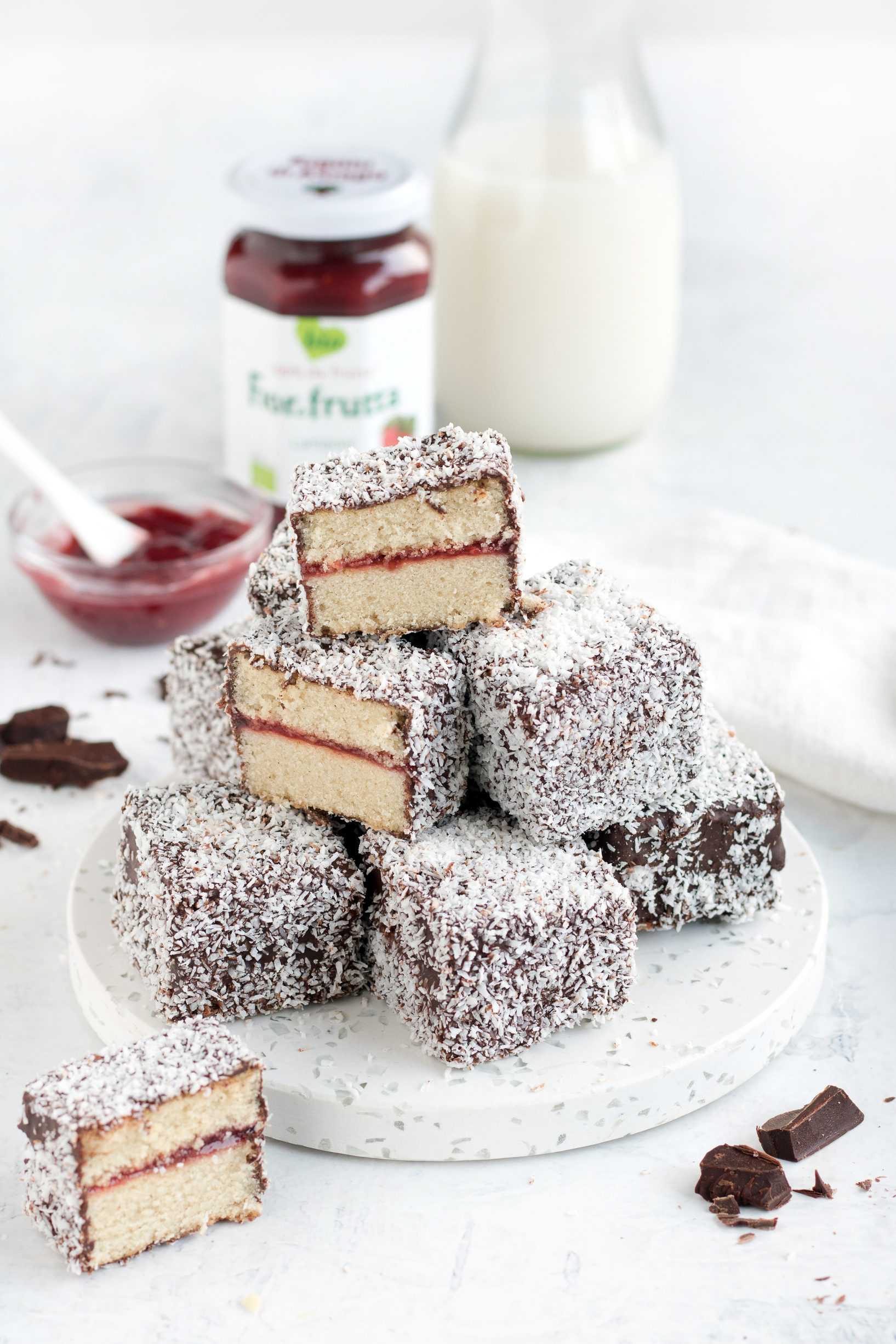 lamington vegan