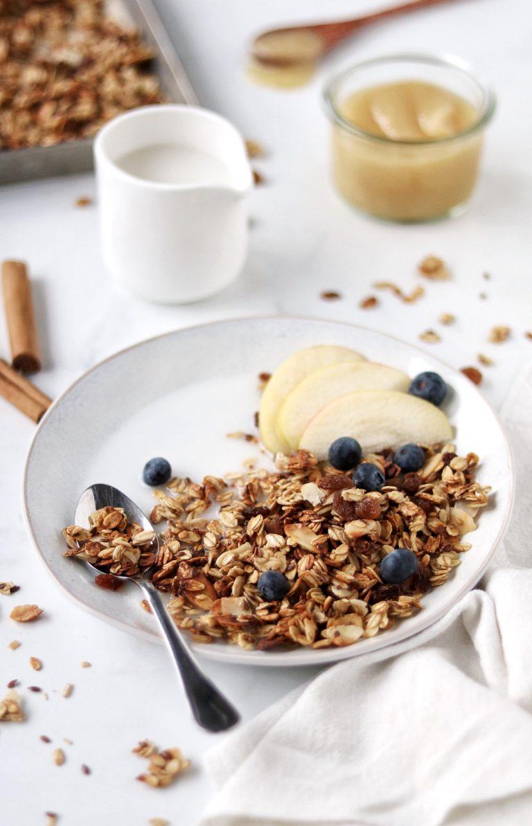 granola senza zucchero